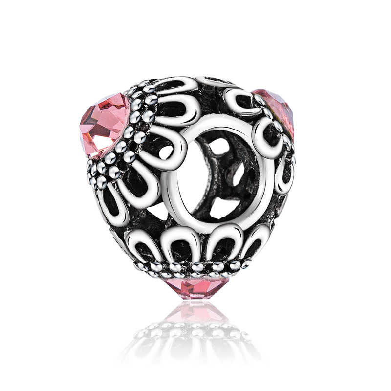 Kualitas Baik Murano Perhiasan Burung Hantu Ice Cream Bintang Sayap Bunga Hiasan Manik-manik Fit Asli Pandora Gelang DIY Pulsera untuk Wanita