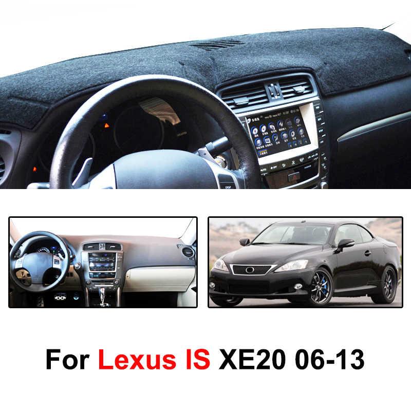Xukey для Lexus IS IS250 IS350 IS F 2006-2010 2011 2012 2013 крышка приборной панели dashmatt Dash коврик для защиты от солнца