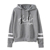 New Kpop BTS Bantan Boys The Same Around Personalized Signature Limited Edition Hoodie Pullover Hooded Long