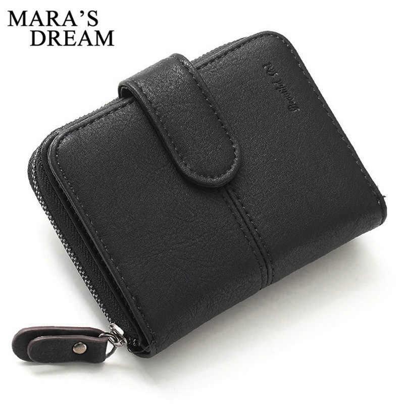 Mara's Dream маленький женский кошелек с буквенным принтом, Женский мини-кошелек, многофункциональный Женский кошелек для монет, кошелек на молнии для денег, короткий кошелек с застежкой