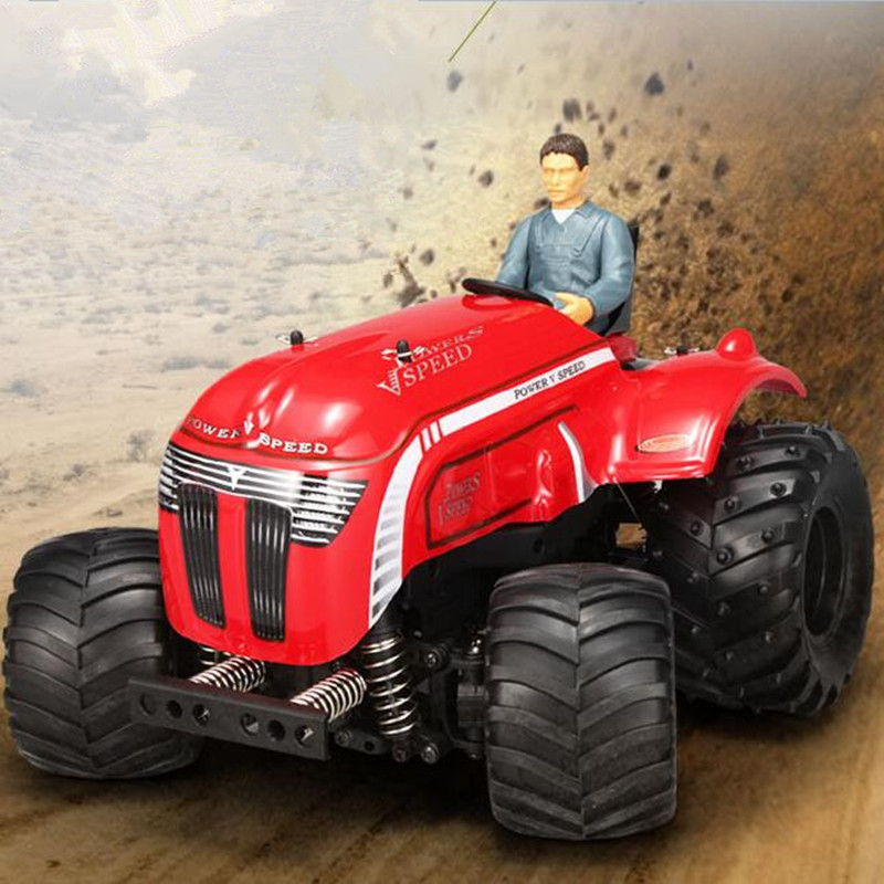 Promo WLTOYS P949 1/10 Scale 2.4G RC 2WD Remote Control Tractor Strong Motor Max Speed 35Km/h Anti-Shock Buggy Car Off-Road радиоуправляемый трактор wl toys p949 tractor 2wd 1 10 2 4ghz