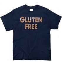 Print T Shirt Short Sleeve Gluten Free Bread Wheat Carbs Diet Vegetarian Crew Neck Mens Tee