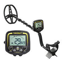 TX 850 Deep Penetrating Gold Nugget Hunter Pinpointing Metal Detector 19 Khz Frequency Adjustable Position Armrest
