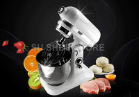 7L Stainless Steel Bowl 10 speed Kitchen Food Stand Mixer Cream Egg Whisk Blender Cake Dough Bread Mixer Maker Machine