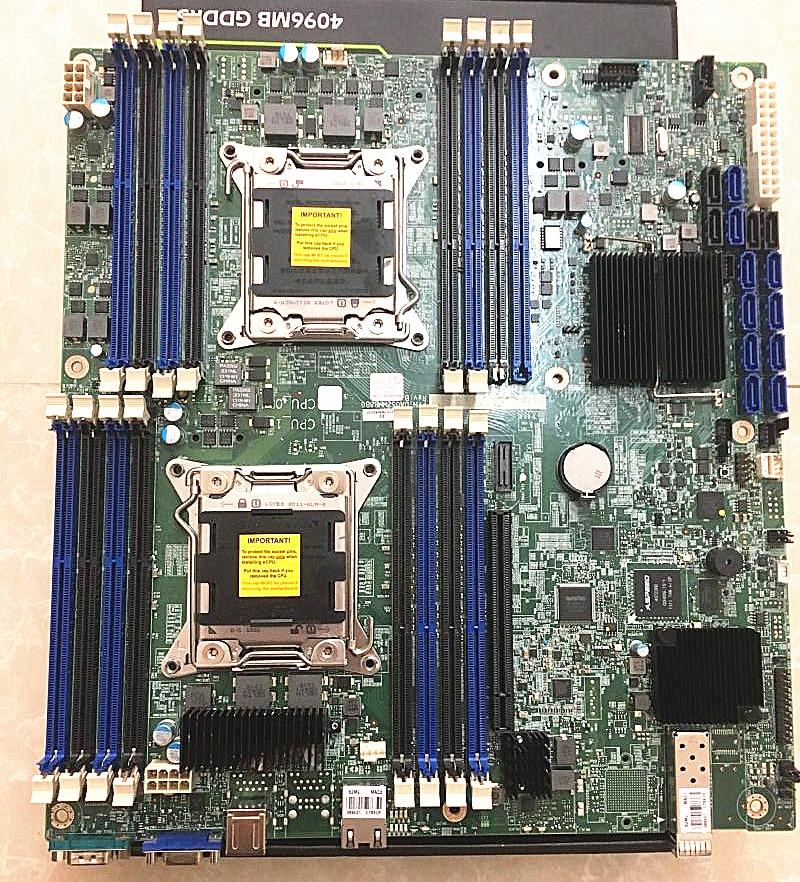 X79 Dual CPU Motherboard 2011-Pin Server Game Multi-open