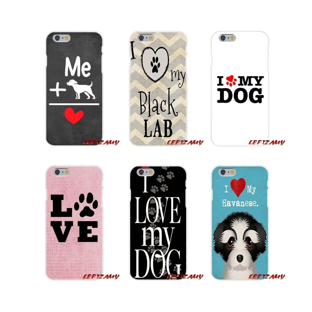 Accessories Phone Shell Covers For iPhone X XR XS MAX 4 4S 5 5S 5C SE 6 6S 7 8 Plus I love my Beagle Dogs