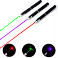 1PIECE Powerful Green/Red/Purple 5mw Laser Pen 532nm Laser Pointer for teaching/Hunting(No battery)