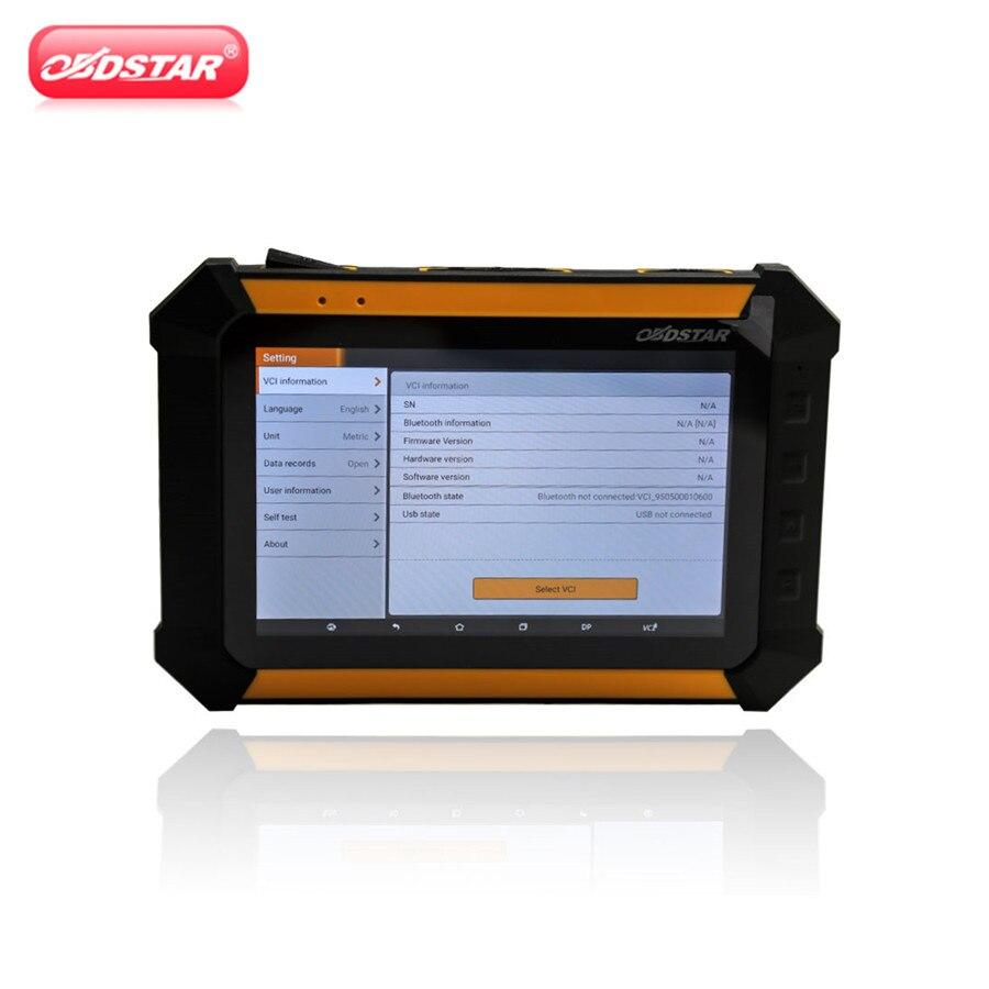 где купить OBDSTAR X300 DP PAD Tablet Key Programmer Standard Full Configuration Immobilizer Odometer Adjustment+ EEPROM/PIC Adapter +OBDII по лучшей цене