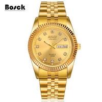BOSCK 3308 Men S Double Calendar Water Proof Men S Quartz Watch Explosion Luminous Function