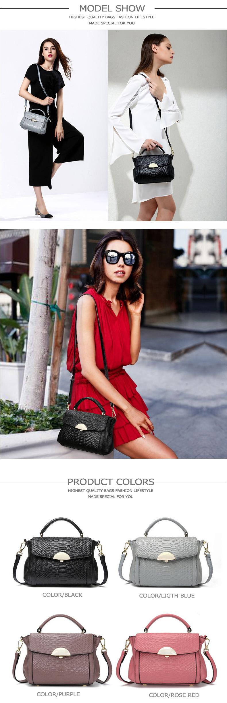 women leather handbags xiangqing-01