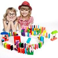 Животное Пасьянс головоломка игрушка Дети/домино 28 шт. детская игрушка стандартное деревянное домино раннего детства игрушки Дети