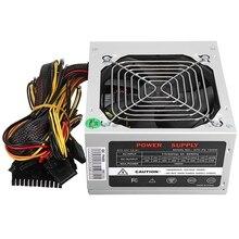Max 1000W Atx Power Supply Quiet Fan For Intel Amd Pc Psu Pc Computer Miner Us