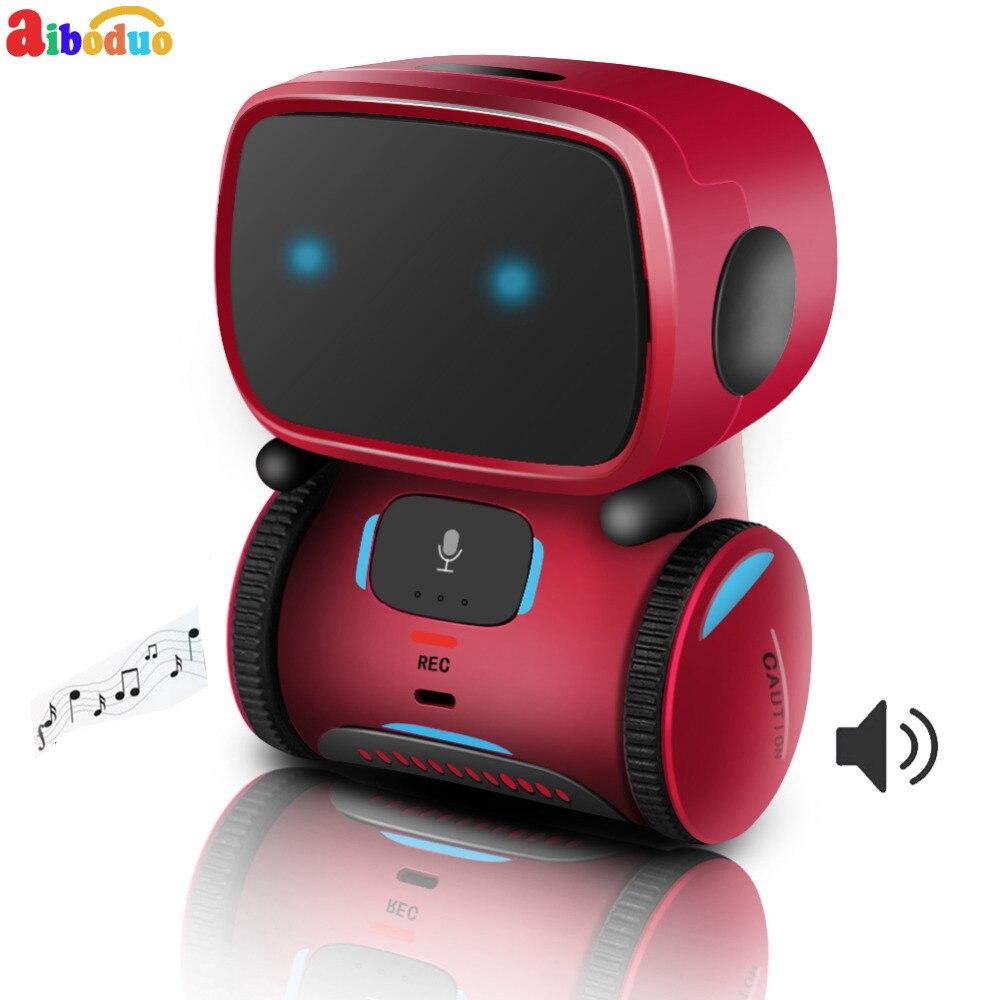 Aiboduo robot rc Avec contrôle vocal De Danse Intelligente tirelire Geste Contrôle robot de contrôle à distance pour les Enfants de L'éducation