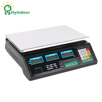 40kg electronic pricing scales weighing of fruit food price computing for store shop