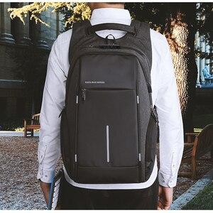 """Image 4 - Erkekler TSA Anti hırsızlık sırt çantası büyük kapasiteli 17.3 inç USB sırt çantası erkek kadın 15.6 """"Laptop sırt çantaları Schoolbag gençler için"""
