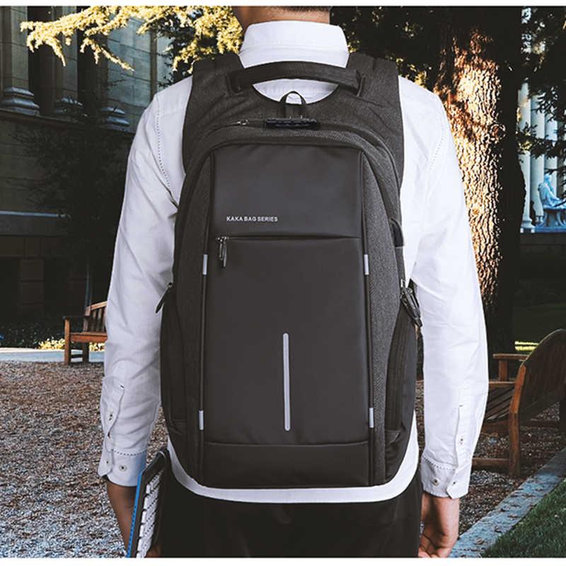 """Мужской TSA Противоугонный рюкзак большой емкости 17,3 дюймов рюкзак с usb-портом для мужчин и женщин 15,6 """"Ноутбук рюкзаки школьная сумка для подростков"""