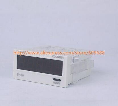 ZYC09 (DHC9J-L) AC/DC24-240V digital Predefinido contador contagem adição tensão larga variedade de contagem de maneira