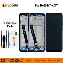 цена на 6.26 LCD Screen For Xiaomi Redmi 7 LCD Display Touch Screen Panel Digitizer Assembly For Redmi 7 Replacement Parts