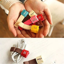 1Pcs Earphone Wire USB Cable Cord Winder Organizer Wire Cable Holder