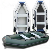 3m professional inflatables kayak fishing boat inflatable laminated  wear-resistant laminated boat for 4~5person