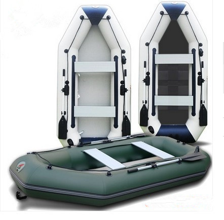 3m professional inflatables kayak fishing boat inflatable laminated wear resistant laminated boat for 4 5person