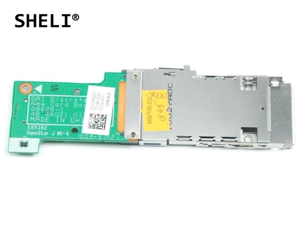 SHELI For DELL 1545 1546 Card Reader Board P822F 0P822F CN-0P822F 48.4AQ27.011