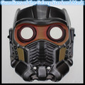 Free shipping Halloween Party Movies Guardians of the Galaxy Star Lord Mask Cosplay Helmet Glow Glass PVC Adult Version Mask Toy