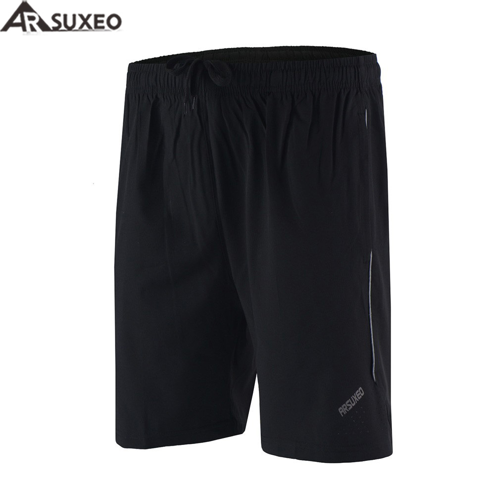 ARSUXEO Men's Outdoor Sports 6 Running Shorts Training Jogging Soccer Tennis Workout GYM Shorts Quick Dry Pockets B163 outdoor sports pockets sv012199