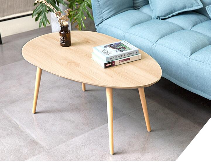 Small Mid Century Modern Coffee Tables for Living Room - Contemporary Low  Wood Center Sofa Table Wooden Furniture Side End Table