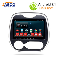 Jasco 9 Car DVD Player Android 6 0 GPS Navigation For Renault Captur Comfortable Multimeida Player
