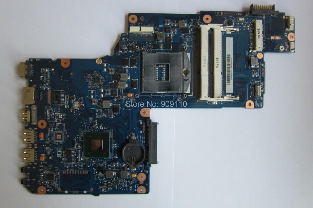 все цены на  L870 L875D integrated HM76 GMA HD4000 DDR3 Socket PGA989 for Toshiba Satellite laptop motherboard L870 L875D H000038240  онлайн