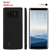 In All 6500mAh Battery Case For Samsung Galaxy Note 8 Smart Power Charger Cover For Samsung