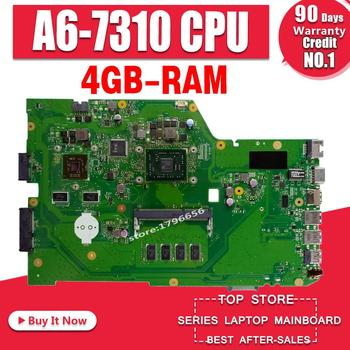 X751YI Laptop motherboard For ASUS X751Y X751YI K751Y Mainboard 2GB Graphics card 4GB RAM A6-7310 CPU