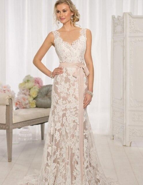 Moderne Vintage Hochzeit Kleid 2017 Sexy Spitze Backless ...