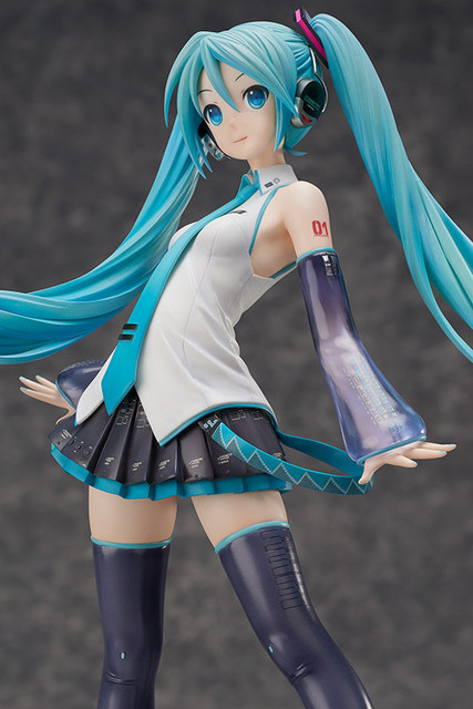45cm big size Hatsune Miku Anime Collectible Action Figure PVC toys for christmas gift with retail box