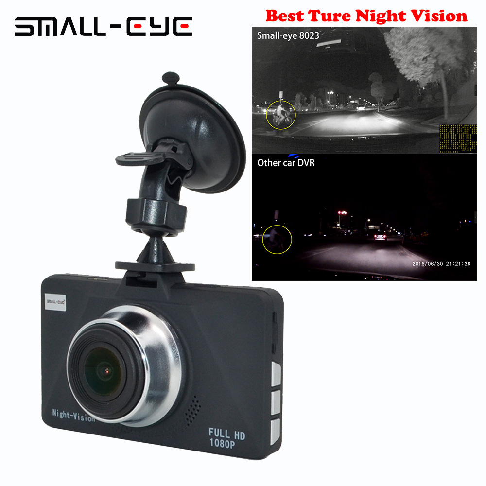 SMALL-EYE  Mini Car DVR Camera Dashcam Full HD 1080P Video Registrar Recorder G-sensor Night Vision Dash Cam  8203