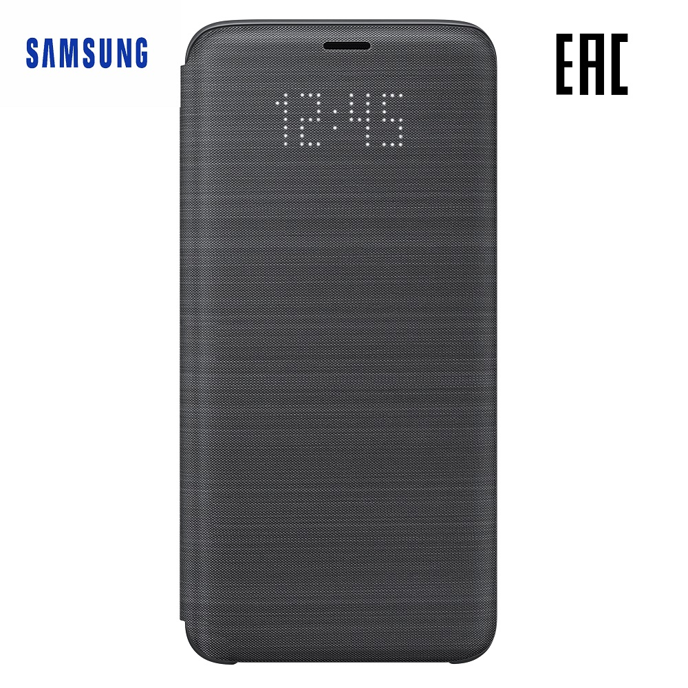 Case for Samsung LED View Cover Galaxy S9 EF-NG960P Phones Telecommunications Mobile Phone Accessories mi_1000005534533 case for samsung clear view standing cover galaxy s8 ef zg955c phones telecommunications mobile phone accessories mi 3281881930