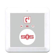 Home Alarm System GSM Dialer Home Security SOS Call SMS commands APP Setting for Senior Elderly Community