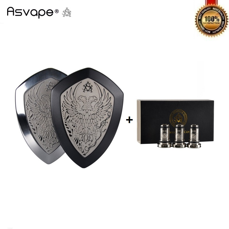 Original Asvape Defender Kit 1200mAh Built in Battery 4ml Vape Tank Vaporizer Mod Vapor All In