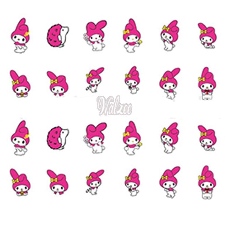 Uprettego Nail Art Beauty Water Decal Slider Sticker Cartoon Anese My Melody Cat Magician Ye142 147 Aliexpress Mobile