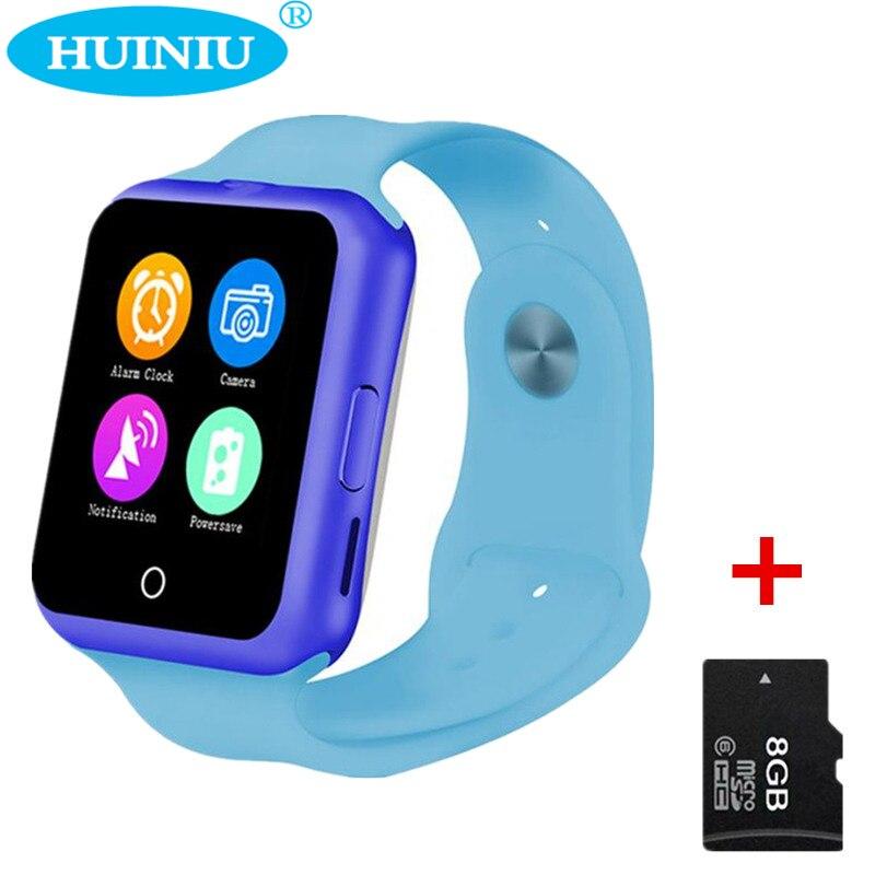 Huiniu d3 bluetooth smart watch rastreador podómetro del ritmo cardíaco sim para