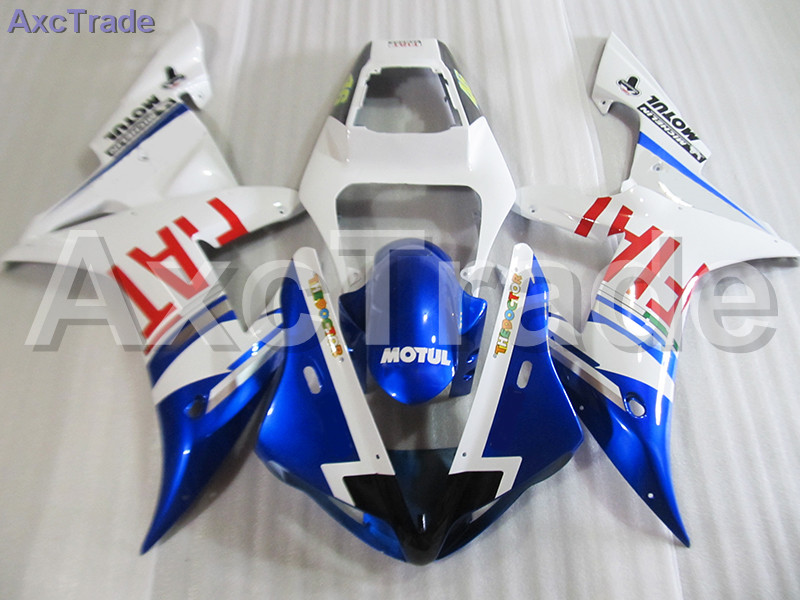 Moto Injection Mold Motorcycle Fairing Kit For Yamaha YZF1000 YZF 1000 R1 YZF-R1 2002 2003 02 03 Bodywork Fairings Custom Made 2018 custom made cola plastic injection basket mold