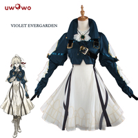 UWOWO Violet Evergarden Cosplay Anime Violet Evergarden Costume Women Japanese Anime Costume Dress