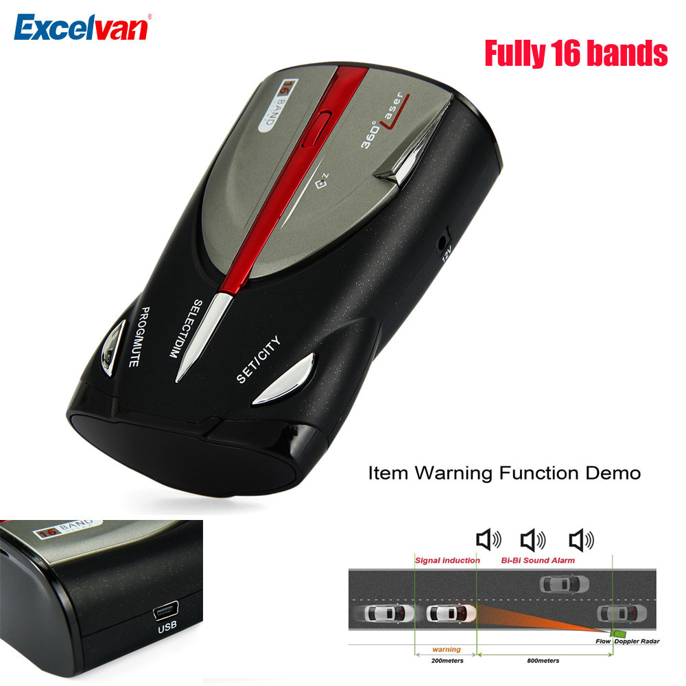universal 9880 anti police anti radar detector touch button laser eye 360 degree detection fully. Black Bedroom Furniture Sets. Home Design Ideas