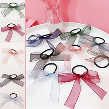 LNRRABC 2018 new bow plush ball hair rope Korean version of the fresh and simple girl accessories boutique gift