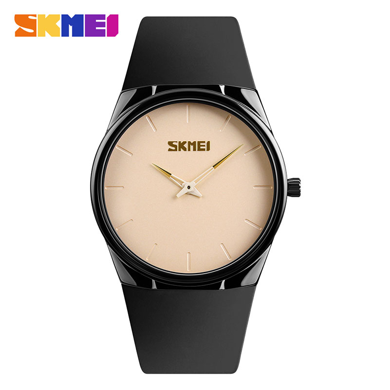 NEW Fashion Brand SKMEI Men Quartz Watches Casual Ultra Thin Wristwatches 30M Waterproof Watch Relogio Masculino 1601S 2017 new top fashion time limited relogio masculino mans watches sale sport watch blacl waterproof case quartz man wristwatches