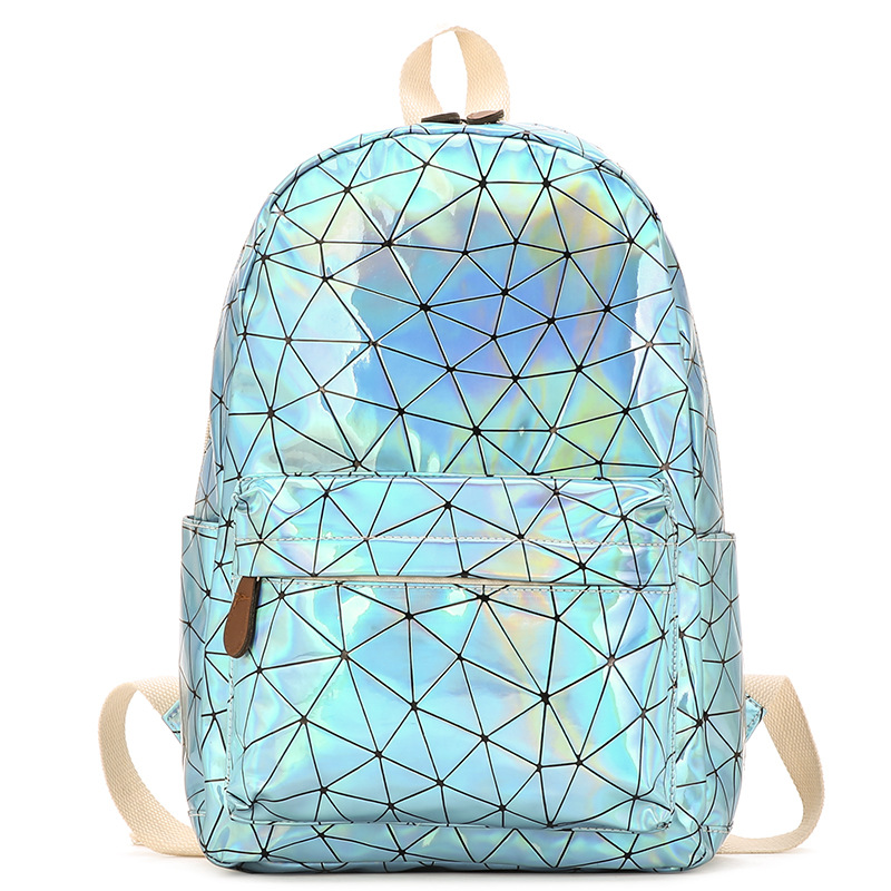 HTB1BBBMg9zqK1RjSZFpq6ykSXXaO Large Travel Bags Laser Backpack Women Men Girls Bag PU Leather Holographic Backpack School Bags for Teenage Girls fashion bag