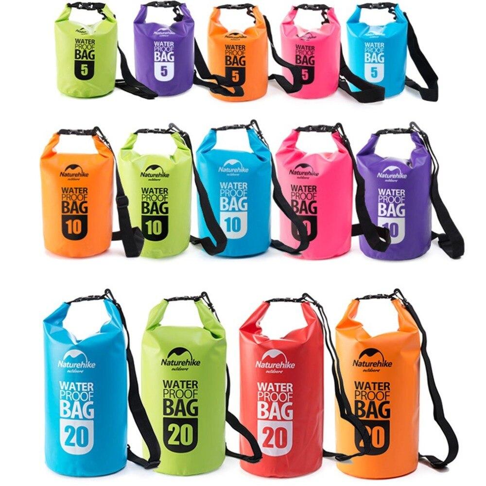 Swimming Waterproof Bag Camping Beach Bags PVC Hermetic Bags For Tourism Rafting Ultralight Phone Dry Bag Cmping Drifting