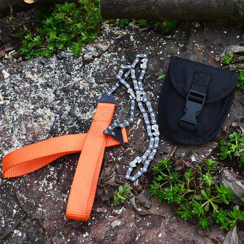 Berguna Outdoor Nilon Gergaji Kawat Baja Cincin Gulir Perjalanan Camping Darurat Kelangsungan Hidup Gergaji Gear Climbing Kelangsungan Hidup Tangan Alat
