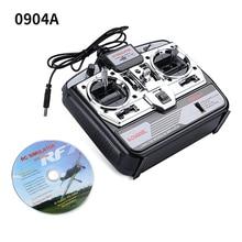 Тренировочный аппарат 0904A 6CH XTR RC симулятор полета 6 CH JTL-0904A CD симулятор дистанционного управления